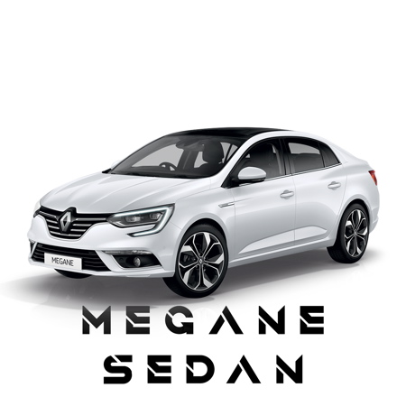 Voiture à louer Renault Megane Sedan (avec coffre)